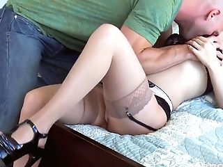 Jeanie Marie Sullivan Realizes Her Fantasy To Fuck Her Neighbor Stripteaser Johnny