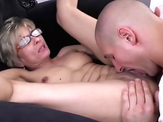 Horny Gilf Keeps It Nice And Taut Get Facial Cumshot With Legitimate Years Old