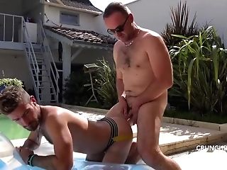 Lad Fucked Without A Condom And Breeded In Jockstrap By Advisor Matures For Crunchboy