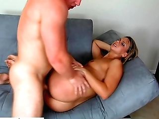 Cougar With Obese Booty Brianna Beach Gives Her Head And Gets Fucked