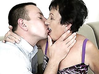 Brief Haired Matures Old Bi-atch Hettie Is Fucked Rear End And Missionary Hard