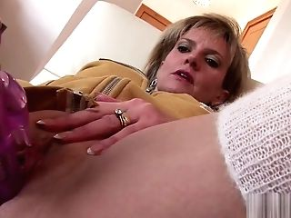 Adulterous English Matures Lady Sonia Shows Her Big Tits