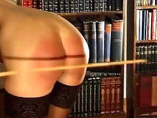 Daughter-in-law And Mommy Spanked And Caned By Rigorous Professor