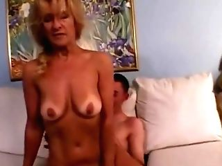 Noisy, Wailing Matures Fucks Junior Stud