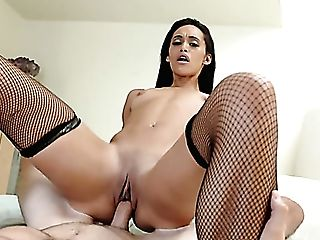 Rather Pliable Long-legged Cowgirl Gia Vendetti Gonna Leap On Strong Fuckpole