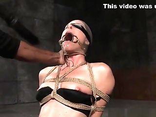 Enslaved Mummy Tiedup And Dildoed In Mouth