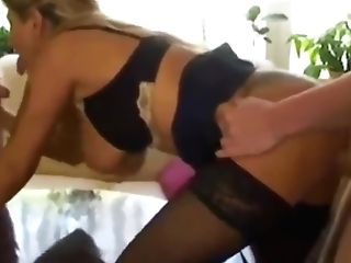 Hubby Fucks His Shameless Cougar Wifey With Youthful Boy