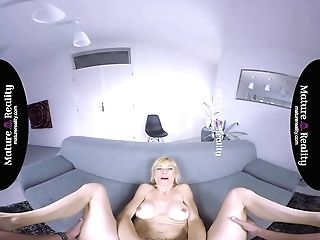 Maturereality - Blonde Matures With Cock-squeezing Figure