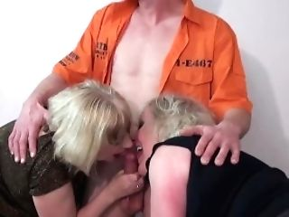Trisha & Claire Get A Good Fucking From The Escaped Convict