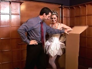 Whore In Milky Stockings Cassandra Serves Her Customer At The Highest Level