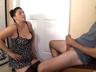 This Boy Starts Touching His Man Meat To Sexy Sundress