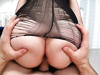 Giant Bottomed Sexpot With Yummy Knockers Serena Skye Rails Fat Prick
