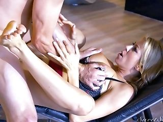 Blonde Bitch Gets Arched Over And Romped