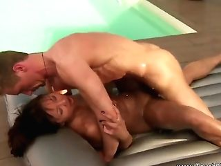 Nuru Mummy Sliding On Milky Fuck-stick