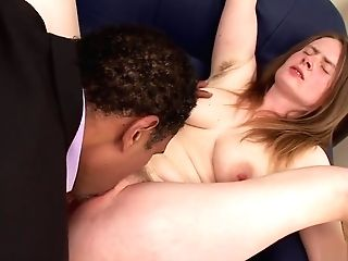 Hairy Matures Takes A Black Dick